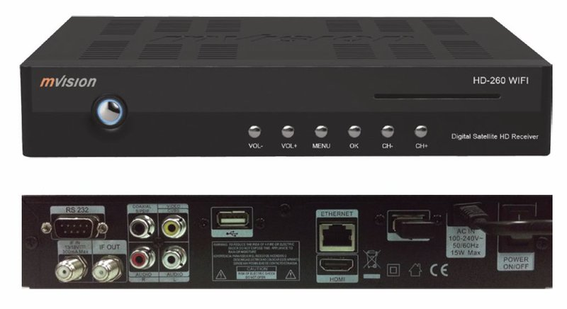 Mvision hd 260 wifi portal canales gratis • domo electra.